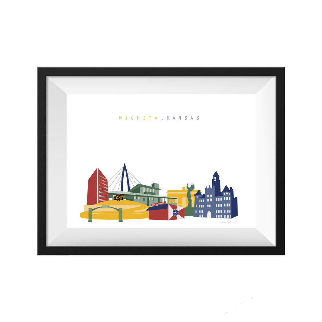 Wichita Kansas Print