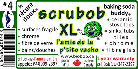 our new label for the scrubob XL