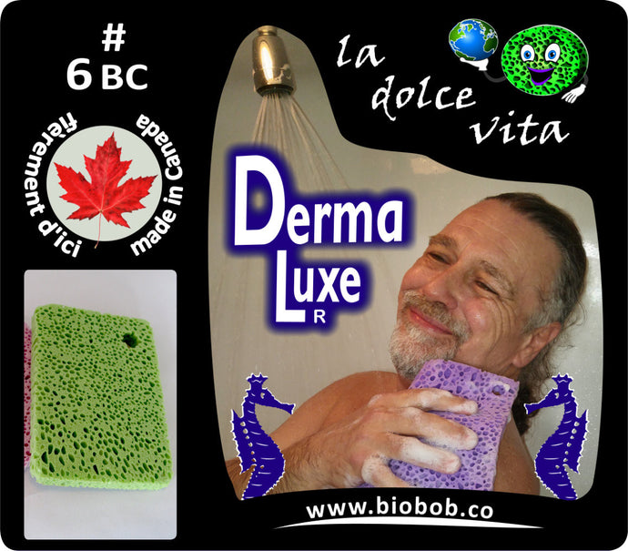 #6BC derma-luxe bubbly body cloth