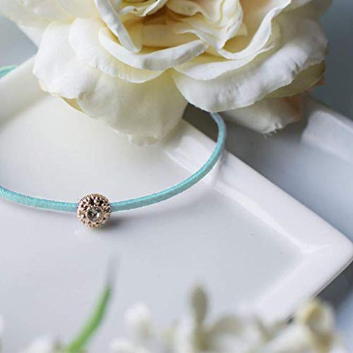Christmas gift ideas for women, xmas gifts for ladies, stocking fillers for women, Aqua bracelet - Swanky Collection