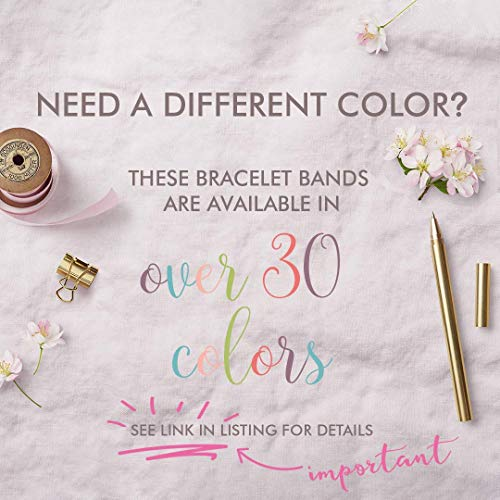 Set of 8 sweet 16 party favors, sweet 16 party supplies, 16th birthday party supplies, Coffee colored friendship bracelets - Swanky Collection