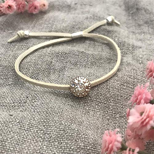Thank you matron of honor, Thank you bridal shower gifts, Matron of honor thank you gifts, ivory friendship bracelets - Swanky Collection