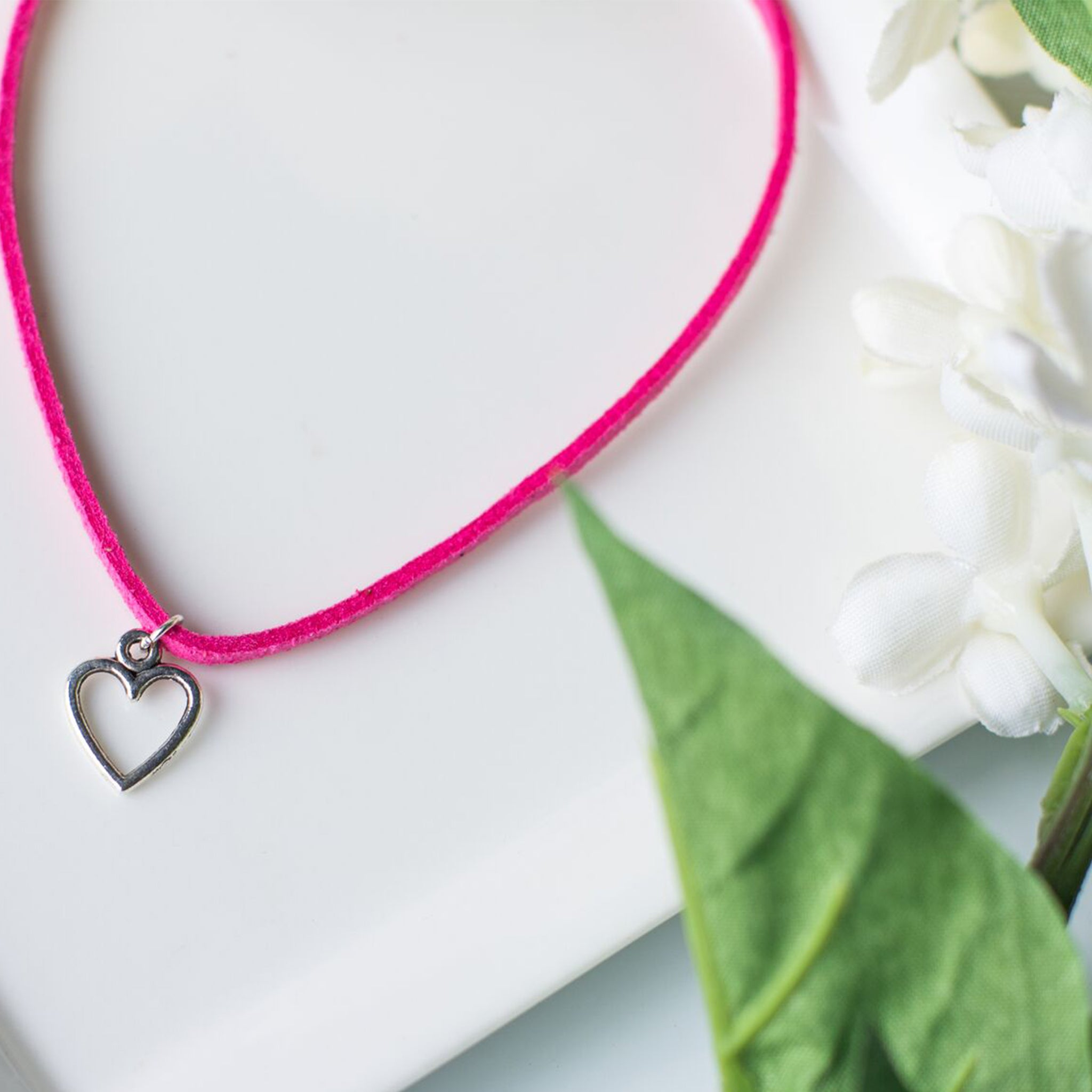Handmade Heart Bracelet - Personalized Gift with Custom Message - Swanky Collection