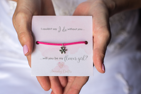 Bridesmaid Thank You Gift - Handmade Sterling Silver Eternity Bracelet