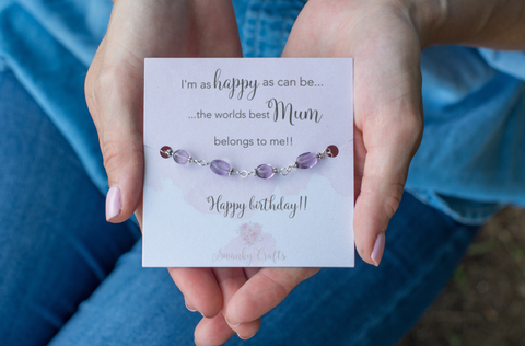Friends Birthday Gifts - Sterling Silver Star Bracelet