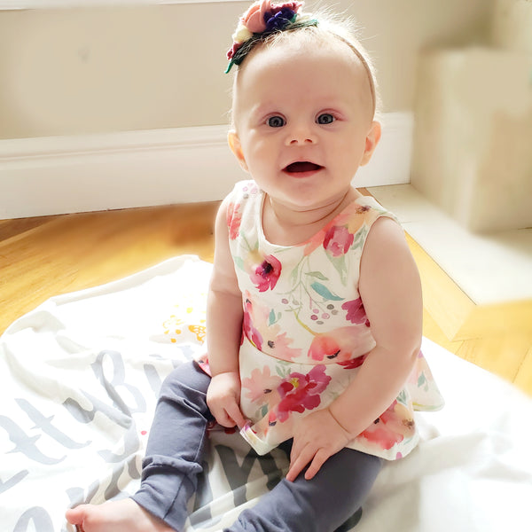 9 months in, 9 months out  Elsie's birth story