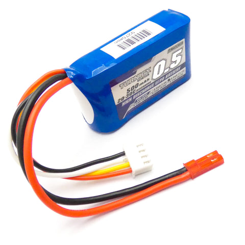 Turnigy 500mAh 3S LiPo Battery Pack 11.1V 20C JST Connector Plug