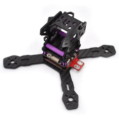 130mm FPV Racing Drone Frame 3K Carbon Fiber RealAcc RX130 with 5V/12V PDB XT60