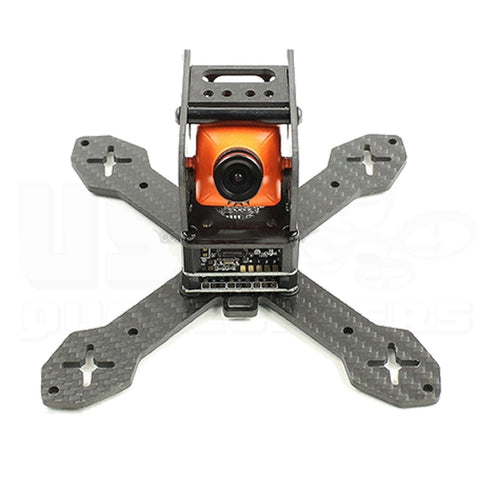 X130 130mm FPV Racing Drone Frame 3K Carbon Fiber for 4-Inch Propellers