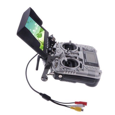 Universal FPV Monitor Transmitter Screen Mount DJI Turnigy Spektrum Controller