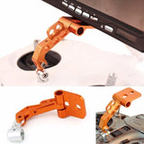 FPV Monitor Screen Mount Bracket Aluminum Universal LCD Holder Bracket Orange