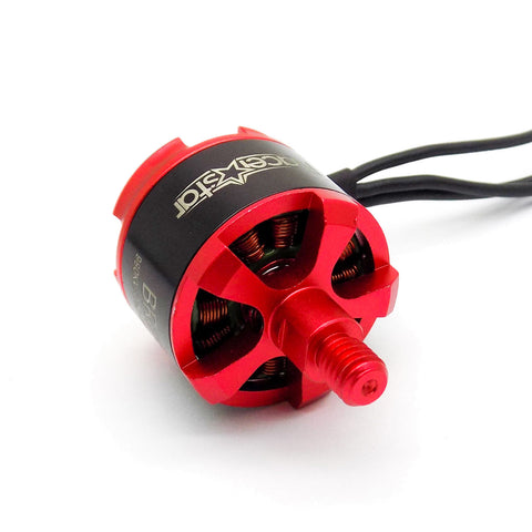 "RacerStar BR2212 980KV 2-4S Brushless Motor Set of 4 Motors for 8-10"" Propellers"