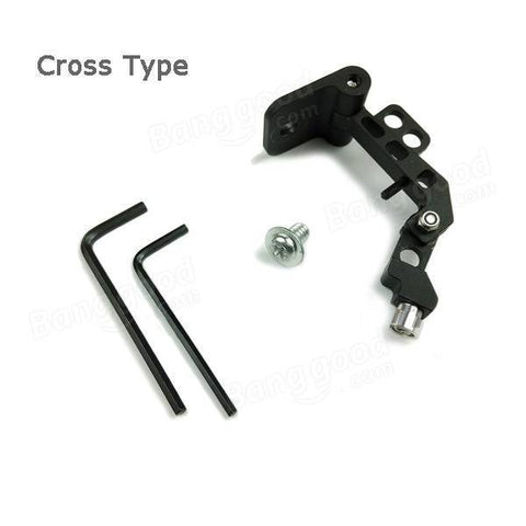FPV Monitor Screen Mount - CNC Aluminum Universal LCD Horizontal Bracket Cross