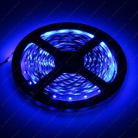 12V 1M 5M Waterproof LED Light Strips 6 Colors 3528SMD
