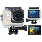 Tekcam F60R 4K WiFi Action Camera Black - CAMERA ONLY (NO ACCESSORIES)