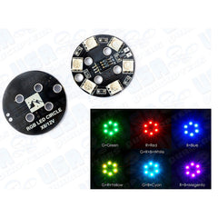 2pcs Matek Round RGB LED 12V 3S 7-Color Choices