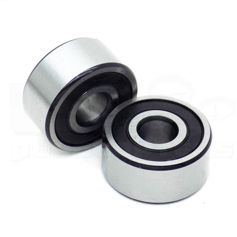 10pcs 5200-2RS High Speed Ball Bearing Double Row Angular Contact 10mm I.D.