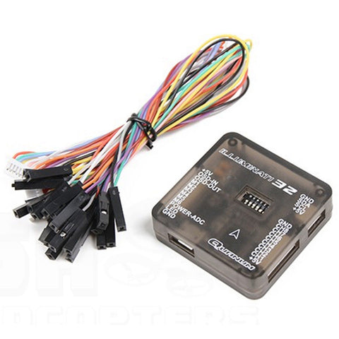 Quanum Illuminati32 V2 Naze32 Flight Controller with Built-In KV OSD 10DOF