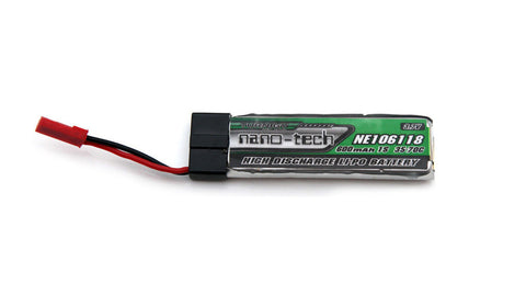 2pcs Turnigy Nano-Tech 600mAh 1S LiPo Battery 35C 70C for Nine Eagles Solo Pro