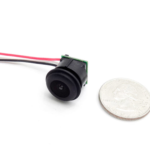 Micro 700TVL 1.8MM Low-Light FPV Camera 1/4 CMOS NTSC Wide-Angle