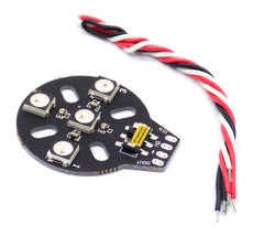 4pcs HGLRC WS2812B RGB LED Built-In Controller 5050 LED for F3 F4 Naze32 CC3D