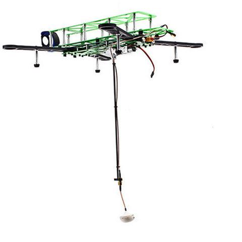 Retractable FPV Antenna System Drop with Extension Cable for Quadcopter Drone