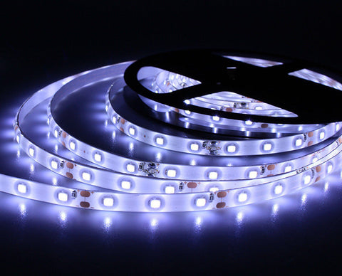12V 1M 5M LED Light Strips Super Bright Tape 6 Colors 3528SMD