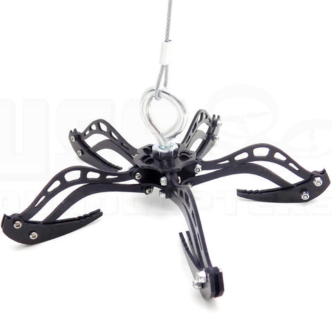 "3.5"" Micro Mantis Claw Drone Recovery Hook Grabber System G10 Fiberglass Kit"