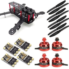 USAQ ZMR250 250mm FPV Racing Drone Kit with 2205 Motors, 30A BLHeli ESC 2-4S