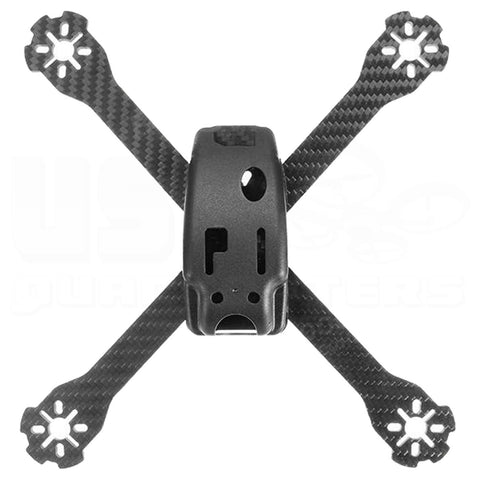 RealAcc Genius215E 215mm 4mm Arm Carbon Fiber Racing Drone Frame Kit