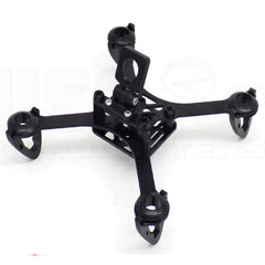 PitchPlus 115mm Brushed FPV Drone Frame for 8520 Motors Racing Quadcopter
