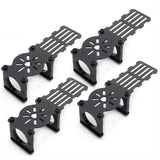 4pcs 25mm 3K Carbon Fiber Tube Motor Mount with ESC Bracket