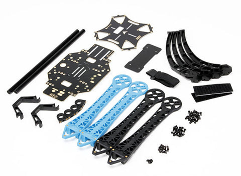 S500 480mm Quadcopter Drone Frame Integrated PDB Landing Gear Mount