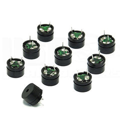 10pcs Passive Electric Buzzer 3V 5V 12V 16ohms 2KHz for Audio Signal Application