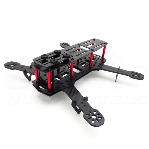 "ZMR250 Classic Carbon Fiber Racing Drone Frame for 5"" Propellers"