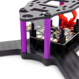 210mm Carbon Fiber FPV Racing Drone 5mm Thick Unibody Frame with Accessories