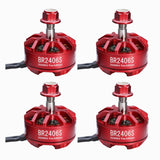 4pcs RacerStar Fire Edition 2406 2600kV 2-4S Brushless Motor for Racing Drones