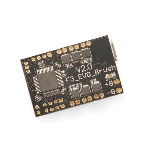Naze32 F3 Evo Brushed 32-Bit Flight Controller for 1S/2S 720-1050 Motors