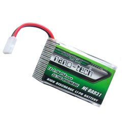 Turnigy Nano-Tech 750mAh 1S LiPo Battery 35C with Micro JST Connector Plug