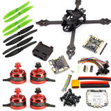 210mm Stretch FPV Racing Drone Kit with F3 Flight Controller, 2205 Motors, 35A ESC 2-4S
