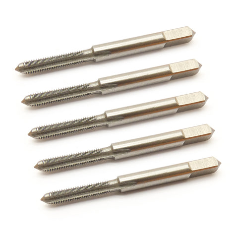 5pcs HSS M3 Metric Hand Tap M3x0.5mm Straight Flute High Speed Steel