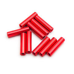 10pcs M3x20mm Aluminum Spacer Standoff (Red Anodized)