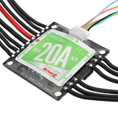 RacerStar 4-in-1 20A Brushless ESC 2-4S for Quadcopter Racing Drone 36x36mm