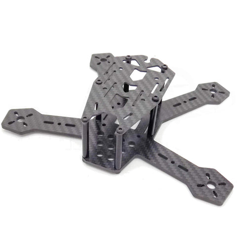 H175 175mm FPV Racing Drone Frame for 4-Inch Propellers Pure 3K Carbon Fiber