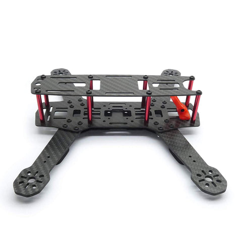 "ZMR250 V2 Carbon Fiber Racing Drone Frame for 5"" Propellers"