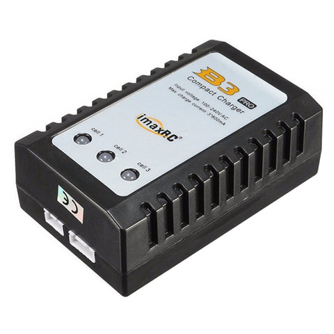 ImaxRC B3 Pro 3s 2s Compact Lipo Charger with US Plug Adapter 100-240v