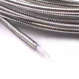 "10FT 3M RG405 Semi-Rigid Coaxial Cable Flexible 0.086"" Silver Plated Conductor"