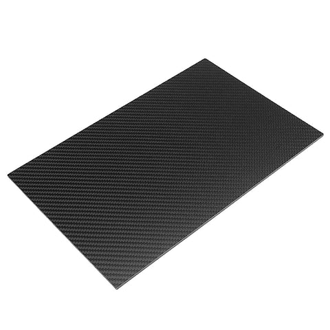 2mm 3k Carbon Fiber Panel Sheet 300x200x2mm 200x300mm Zero Fiberglass