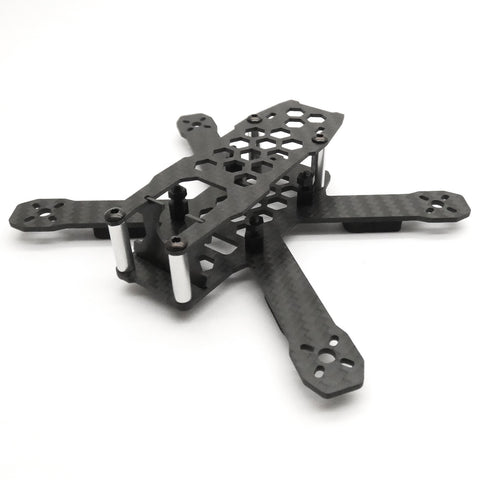 LDARC 130mm FPV Racing Drone Frame with 5V 12V PDB CF Unibody Racer