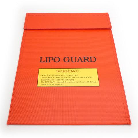 Fire Resistant LiPo Charging Safety Bag Jumbo Large 9x11.5""